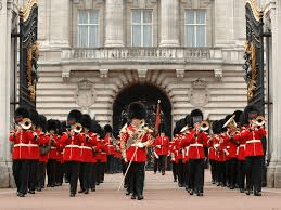 Grenadier Guards with trumpets 2