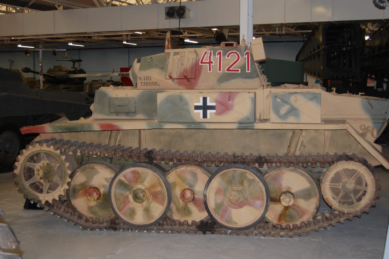 Medium Sized German Tank