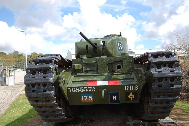 Medium Sized WW2 Tank