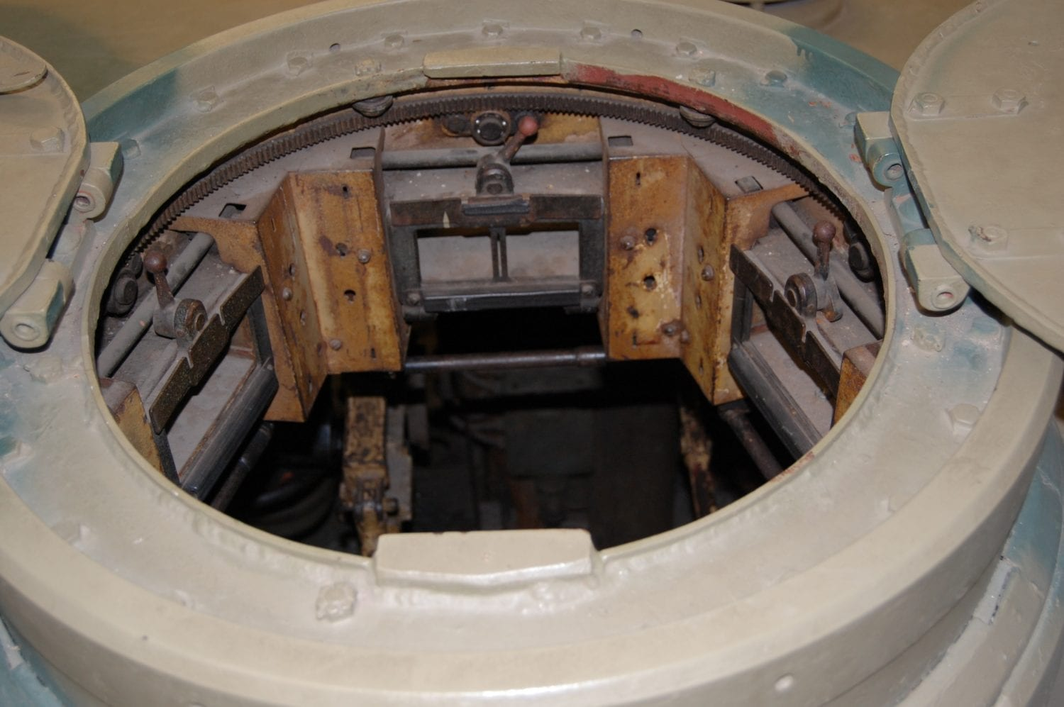 The turret of a WW2 Tank - Classic Battlefield Tours