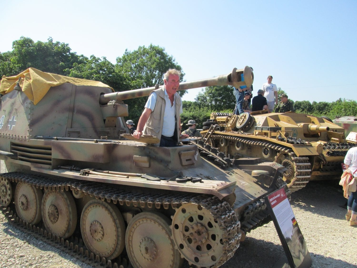 WW2 Tank experiences with Classic Battlefield Tours 2