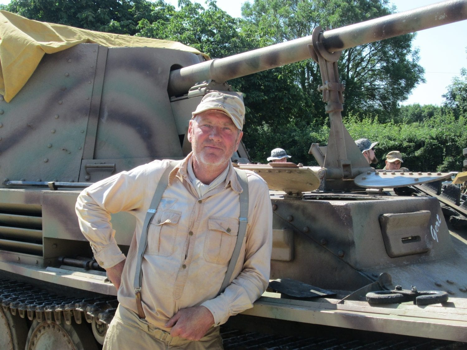 WW2 Tank experiences with Classic Battlefield Tours
