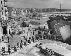 Anzio Bridgehead in Italy