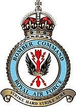 RAF Bomber Command controlled the RAF's