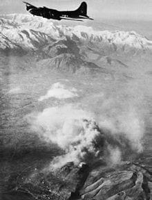 B52 Bombing raid Cassino