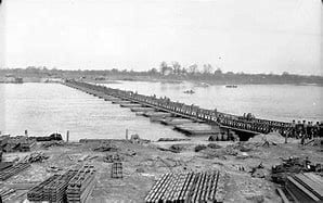 Crossing the Rhine - european tours - man mad bridge - ww2