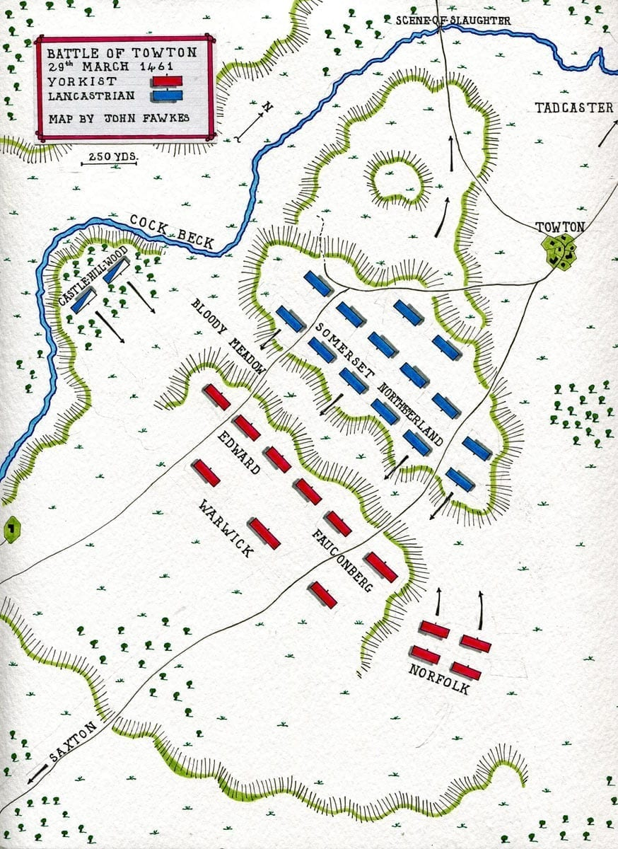 Battle of Towton - 1461 - War of the Roses
