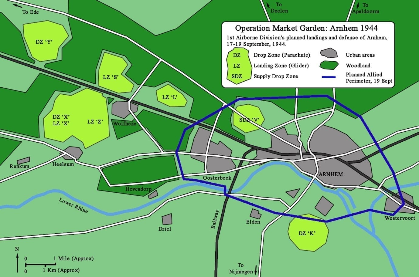 operation market garden - arnhem