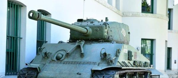American M4 Medium Tank ww2