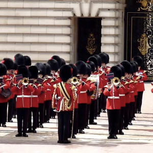 Grenadier Guards on parade