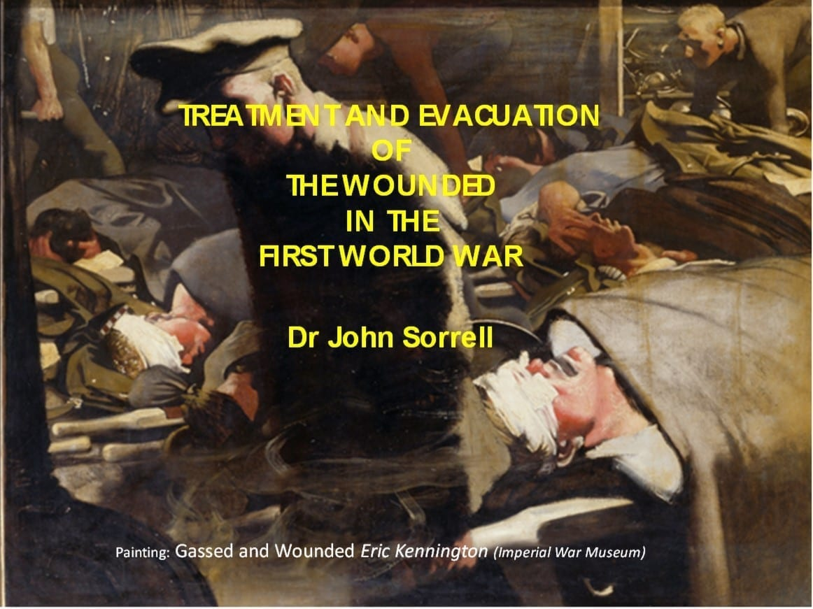 Treatment & Evacuation of the wounded in WW1