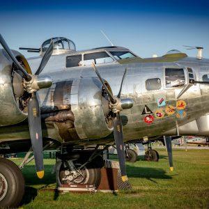 B17 Bomber Aircraft WW2